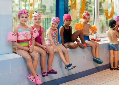 zajęcia na basenie 4active